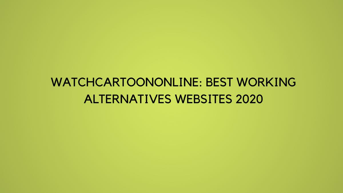 Watchcartoononline